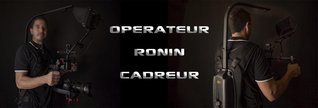 Cadreur Opérateur Ronin Easyrig