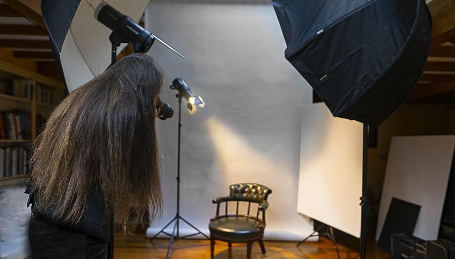 Photographe studio professionnel moyen format paris